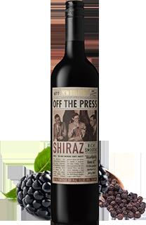 OFF THE PRESS SHIRAZ