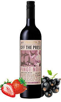 OFF THE PRESS PINOT NOIR