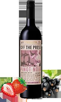 OFF THE PRESS PINOT NOIR