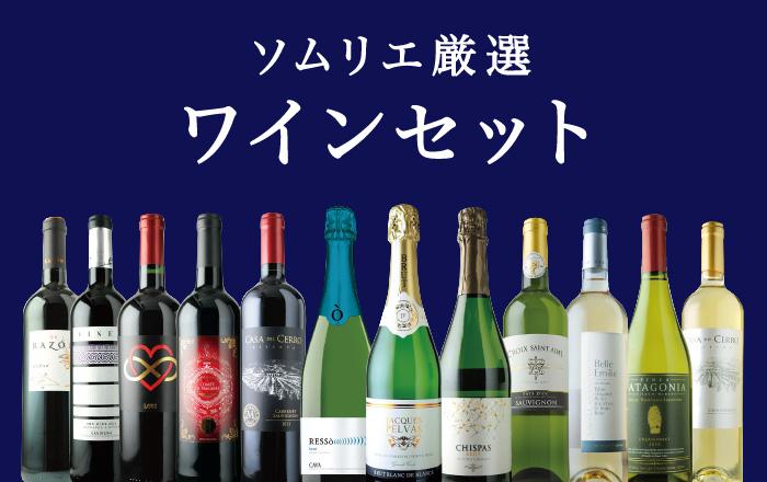 ソムリエ厳選 ワインセット