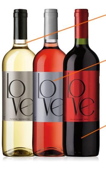 Love ワイン 赤 白 ロゼ