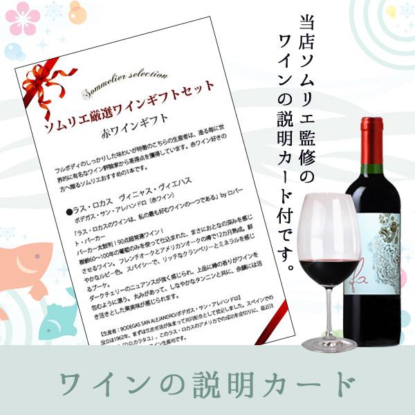 ワインの説明カード