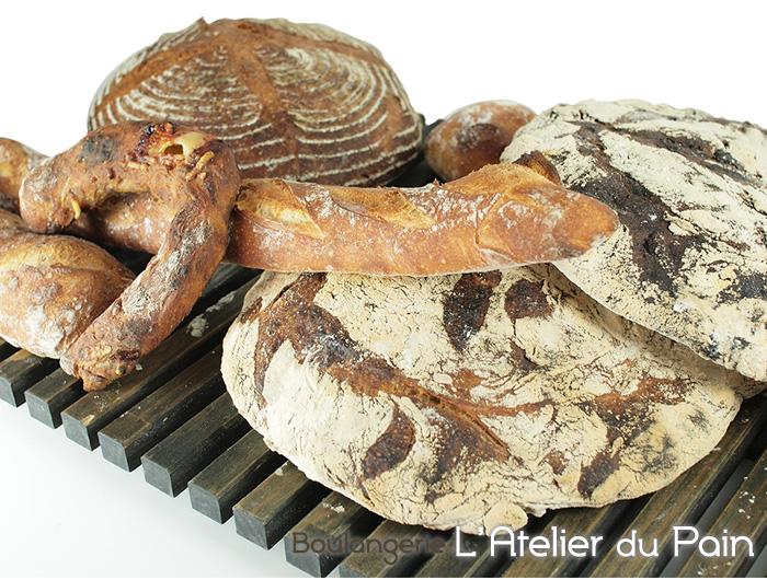 ラトリエ・デュ・パン こだわりハードパンセット